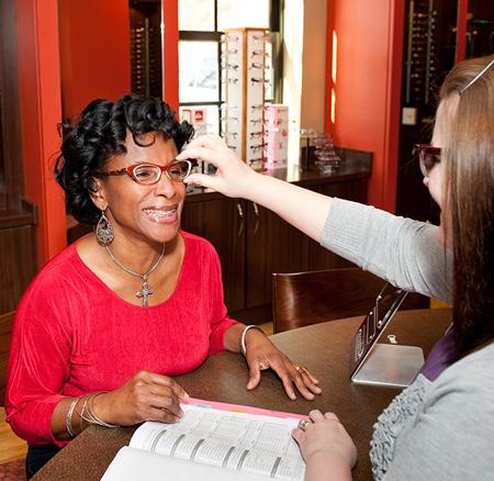 optometrist - eye exam - eye doctor - eyeglasses